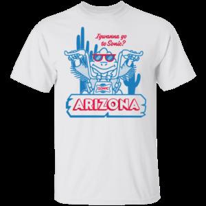 sonic arizona shirt