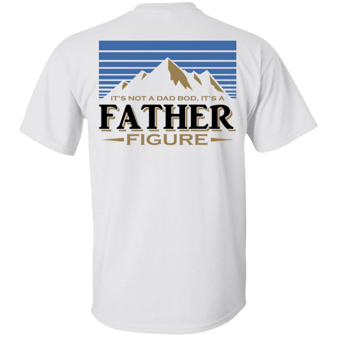 Busch Light Mountains It's Not A Dad Bod It's A Father Figure Shirt