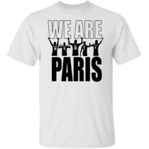 Lionel Messi We Are Paris Shirt