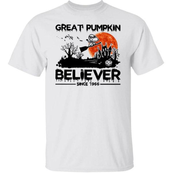 Snoopy Great Pumpkin Believer Since 1966 Shirt