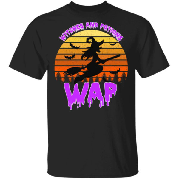 Wap Witches And Potions Halloween Shirt