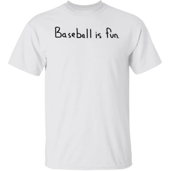 Baseball Is Fun Brett Phillips T-Shirt