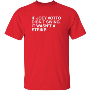 If Joey Votto Didn't Swing It Wasn't A Strike Shirt