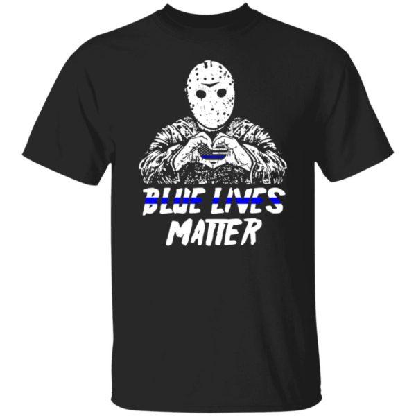 Jason Voorhees Blue Lives Matter Shirt