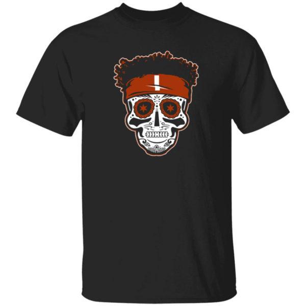 Justin Fields Sugar Skull Shirt