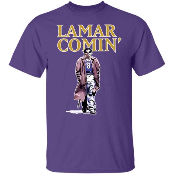 Lamar Comin' Shirt