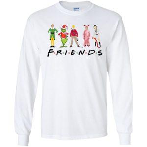 Elf Friends Christmas Long Sleeve Shirt