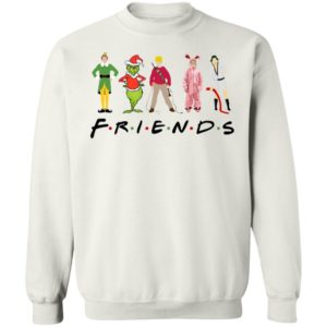 Elf Friends Christmas Sweatshirt