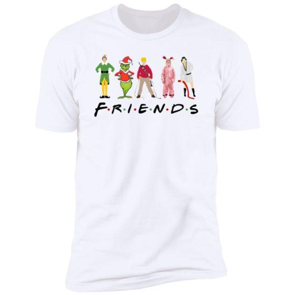 Elf Friends Christmas Premium SS T-Shirt