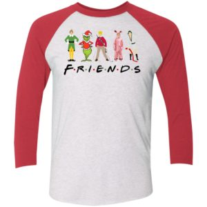 Elf Friends Christmas Sleeve Raglan Shirt