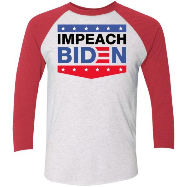 Drinkin Bros Impeach Biden Sleeve Raglan Shirt