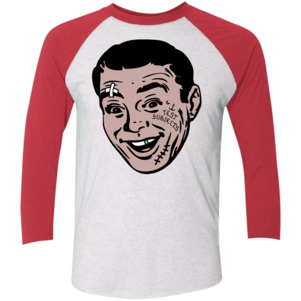 David Breather Test Subjects Sleeve Raglan Shirt