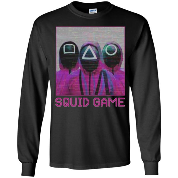 Squid Game Squad Retrowave Active Long Sleeve Shirt