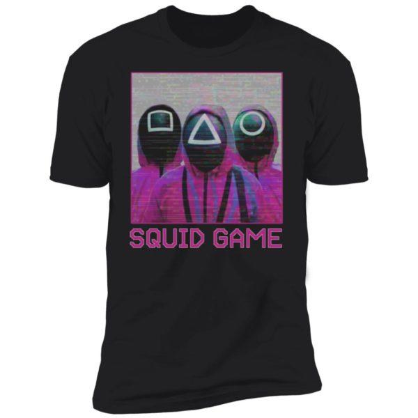 Squid Game Squad Retrowave Active Premium SS T-Shirt