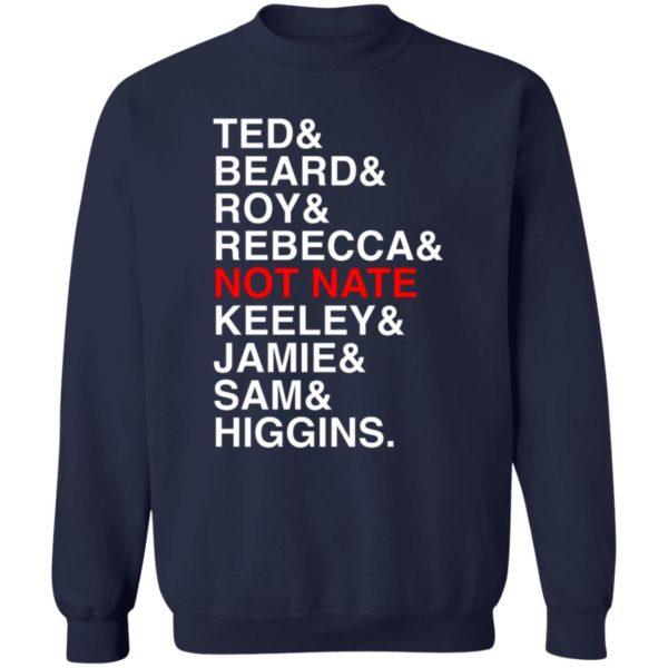Ted Beard Roy Rebecca Not Nate Keeley Jamie Sam Higgins Shirt 6