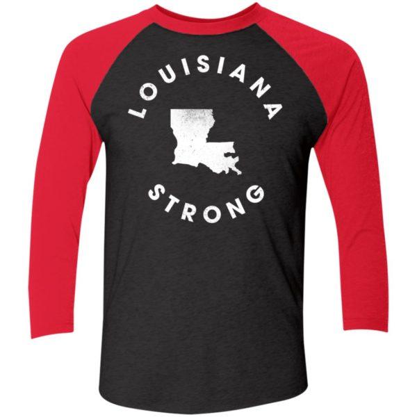 Louisiana Strong Sleeve Raglan Shirt