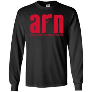 Arn Sopranos Spilling Brains On The Concrete Since 1982 Long Sleeve Shirt