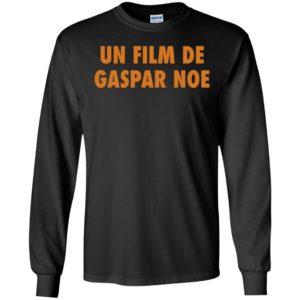 Un Film De Gaspar Noe Long Sleeve Shirt