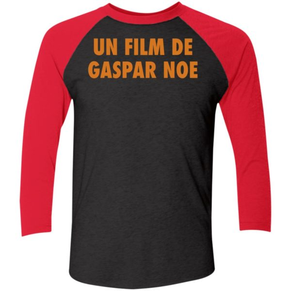 Un Film De Gaspar Noe Sleeve Raglan Shirt