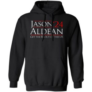 Jason Aldean 24 Get the BS out of the US Hoodie