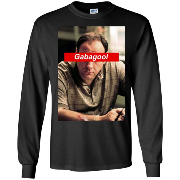 Nice Tony Soprano Gabagool Long Sleeve Shirt