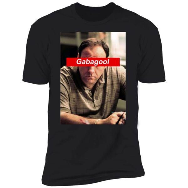Nice Tony Soprano Gabagool Premium SS T-Shirt