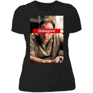 Nice Tony Soprano Gabagool Ladies Boyfriend Shirt
