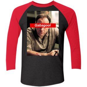 Nice Tony Soprano Gabagool Sleeve Raglan Shirt