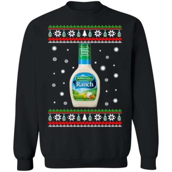Hidden Valley Ranch Christmas Sweatshirt