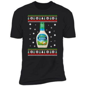 Hidden Valley Ranch Christmas Premium SS T-Shirt