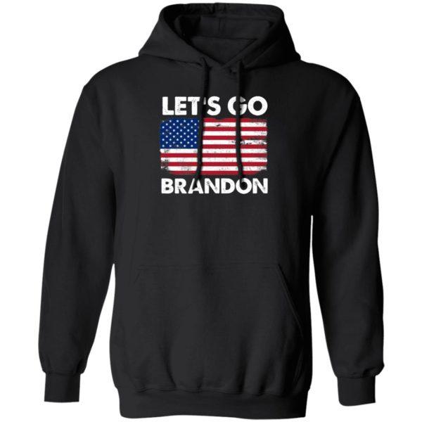 Let's Go Brandon American Flag Retro Hoodie