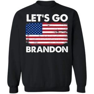 Let's Go Brandon American Flag Retro Sweatshirt