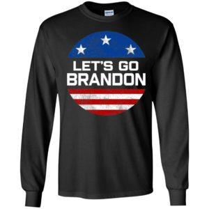 Let's Go Brandon American Flag Long Sleeve Shirt