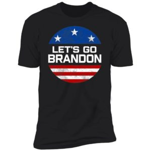 Let's Go Brandon American Flag Premium SS T-Shirt