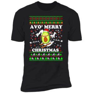 Avo Merry Christmas Premium SS T-Shirt