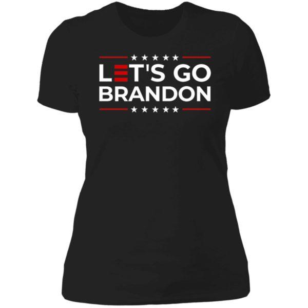 Let's Go Brandon Ladies Boyfriend Shirt
