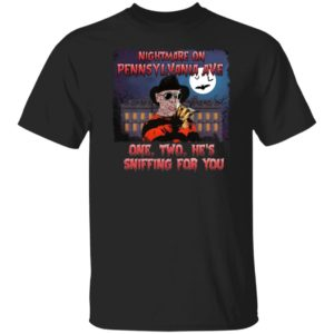 Nightmare On Pennsylvania Ave One Two He's Sniffing For You Shirt