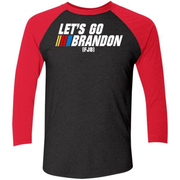 Let's Go Brandon FJB Sleeve Raglan Shirt