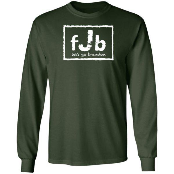 FJB Wrestling Let's Go Brandon Long Sleeve Shirt
