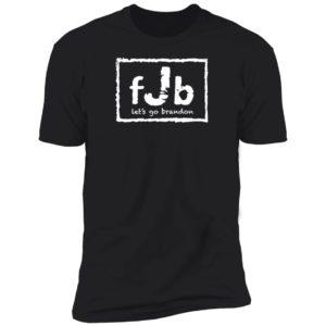 FJB Wrestling Let's Go Brandon Premium SS T-Shirt